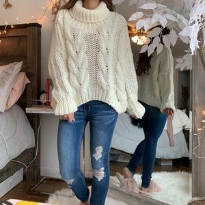 FINAL SALE! VICI turtle neck knitted sweater